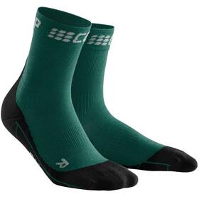 cep Winter Korte Swimrun Sokken Heren, green/black